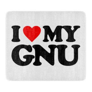 AMO MI GNU TABLAS DE CORTAR