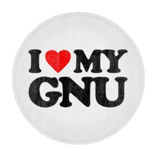 AMO MI GNU TABLA DE CORTAR