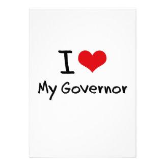 Amo mi gobernador invitacion personal