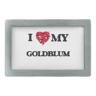 Amo MI Goldblum Hebilla De Cinturón Rectangular