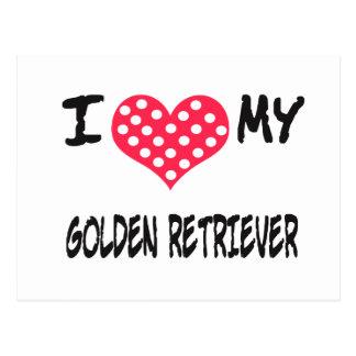 Amo mi golden retriever postal