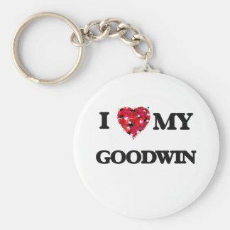 Amo MI Goodwin Llavero Redondo Tipo Pin