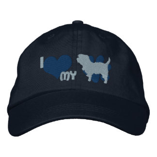 Amo mi gorra bordado Affenpinscher Gorra De Béisbol