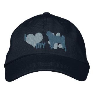 Amo mi gorra bordado barro amasado gorras bordadas