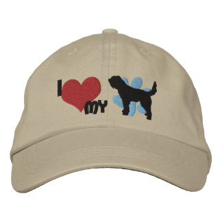 Amo mi gorra bordado Otterhound Gorra De Beisbol