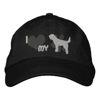 Amo mi gorra bordado Otterhound (gris) Gorras Bordadas