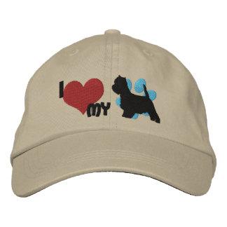 Amo mi gorra bordado Westie Gorras Bordadas