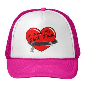 Amo mi gorra coloreado Tzu de Shih