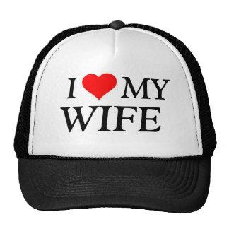 Amo mi gorra de la esposa