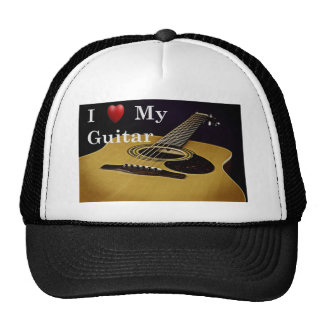 Amo mi gorra de la guitarra
