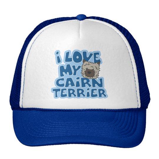 Amo mi gorra de Terrier de mojón