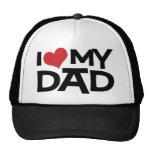Amo mi gorra del camionero del día de padre del pa