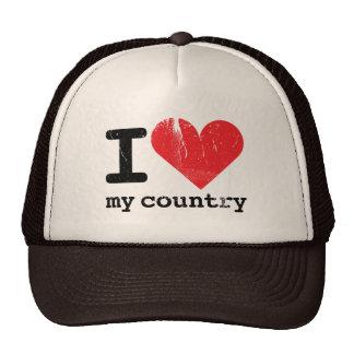 Amo mi gorra del camionero del país