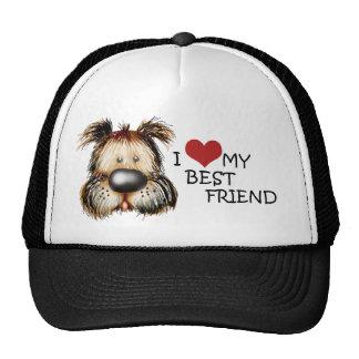 Amo mi gorra del mejor amigo