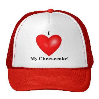Amo mi gorra del pastel de queso