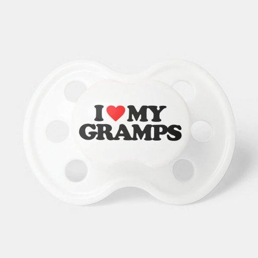 AMO MI GRAMPS CHUPETES