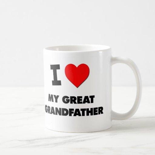 Amo mi grande - abuelo tazas de café
