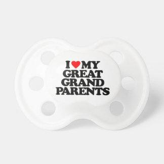 AMO MI GRANDE - los abuelos Chupetes Para Bebes
