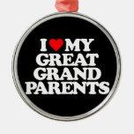 AMO MI GRANDE - los abuelos Ornamentos De Reyes Magos