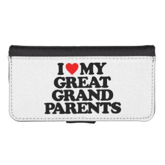 AMO MI GRANDE - los abuelos Cartera Para iPhone 5