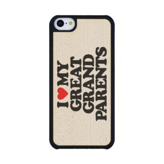 AMO MI GRANDE - los abuelos Funda De iPhone 5C Slim Arce