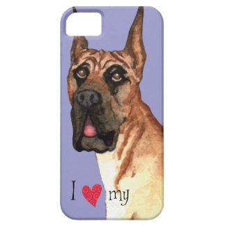Amo mi great dane iPhone 5 Case-Mate carcasa