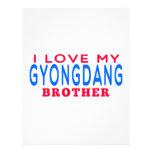 Amo mi Gyongdang Brother Plantilla De Membrete