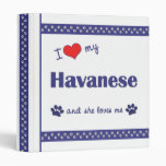 Amo mi Havanese (el perro femenino)