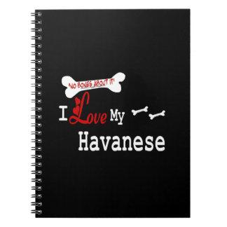 Amo mi Havanese Notebook