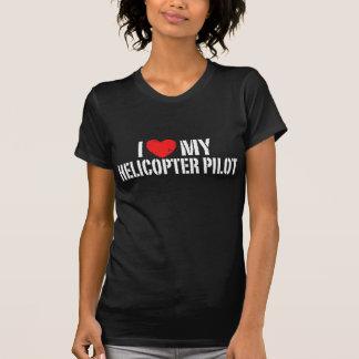 Amo mi helicóptero+Piloto Camisetas