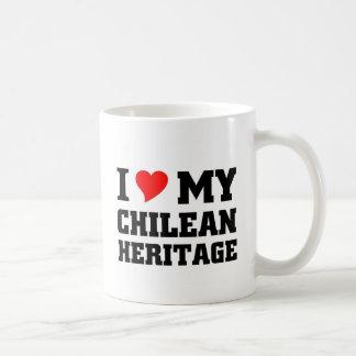 Amo mi herencia chilena taza clásica