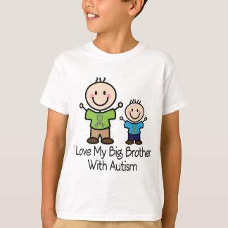 Amo mi hermano mayor con autismo playera