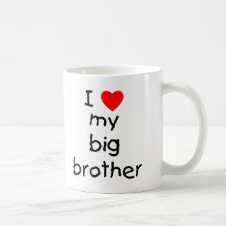Amo mi hermano mayor taza de café