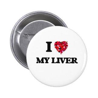 Amo mi hígado pin redondo 5 cm