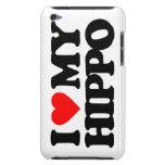 AMO MI HIPOPÓTAMO BARELY THERE iPod FUNDAS