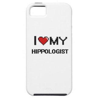Amo mi Hippologist iPhone 5 Case-Mate Fundas