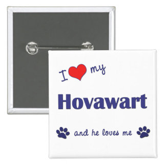 Amo mi Hovawart (el perro masculino) Pin