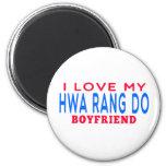 Amo mi Hwa Rang hago al novio Imán De Frigorífico