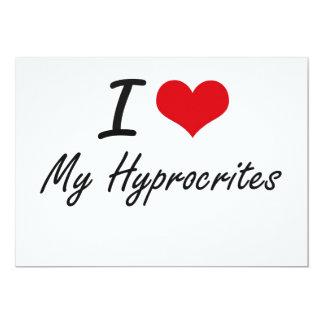 """Amo mi Hyprocrites Invitación 5"""" X 7"""""""