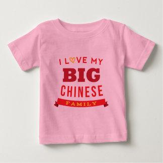 Amo mi idea china grande de la camiseta de la playeras
