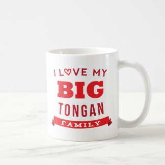 Amo mi idea tongana grande de la camiseta de la taza clásica