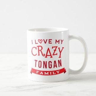 Amo mi idea tongana loca de la camiseta de la taza