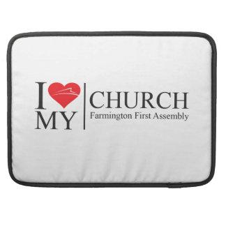 Amo mi iglesia funda macbook pro
