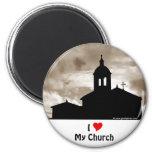 Amo mi iglesia iman de nevera