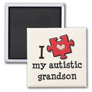 Amo mi imán autístico del nieto