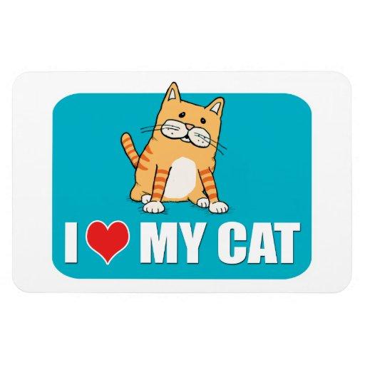 Amo mi imán del gato