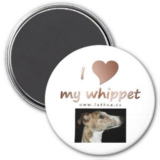 Amo mi imán del whippet