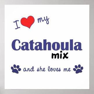 Amo mi impresión del poster de la mezcla de Cataho