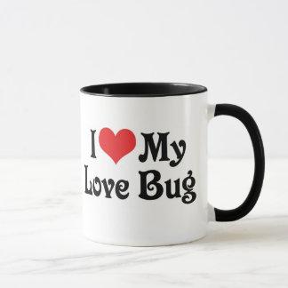 Amo mi insecto del amor taza