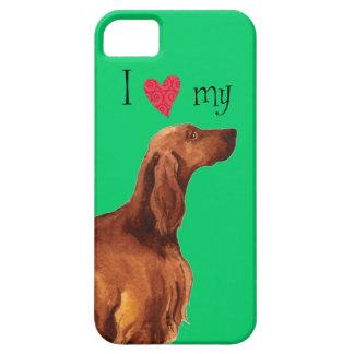Amo mi Irish Setter iPhone 5 Case-Mate Funda